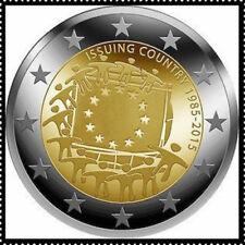 2 EURO *** Luxemburg 2015 Luxembourg - 30 j. Europese vlag - Drapeau Européen !!