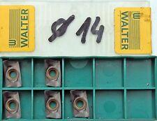 5 Wendeschneidplatten Wendeplatten Walter ADGT1606PER-D51, WKP35