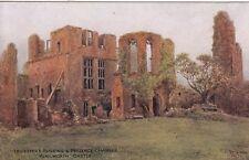 KENILWORTH CASTLE - LEICESTER BUILDING (W.W.QUARTREMAIN) COLOUR  POSTCARD