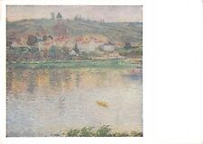 BT15734 calude monet the town of vetheuil paint peintures moscow