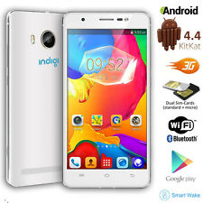 "Unlocked 5.0"" Android 4.4 DualSim 3G SmartPhone 2Core Unlocked AT&T T-Mobile"