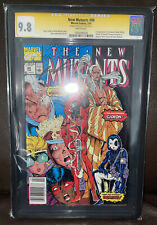 The New Mutants 98 CGC 9.8 Liefeld Signature Series Newsstand Version Deadpool