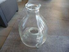 petit gobe mouche piege a guepe en verre art populaire