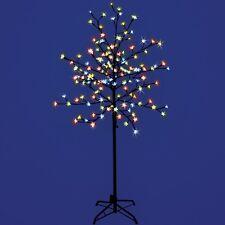 1.5 m Pre-lit Cherry Blossom 150 árbol del Led Multicolores Navidad Luz Decoración