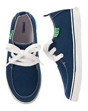 NWT Gymboree Boys Navy Blue Canvas Lace Shoes Sneakers Size 13