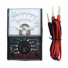 Voltmeter Ammeter Ohmmeter Analog Multimeter Tester Meter Volt AC/DC 1000V/500mA