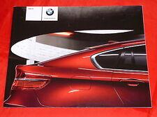 BMW X6 E71 xDrive35i xDrive50i xDrive30d xDrive35d Prospekt von 2009