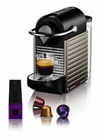 Nespresso XN300540 Pixie Coffee Machine by Krups – Titanium