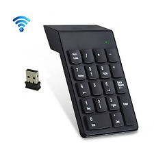 2.4G Wireless USB Key Number Pad Numeric Keypad Accounting Small Mini Keyboard