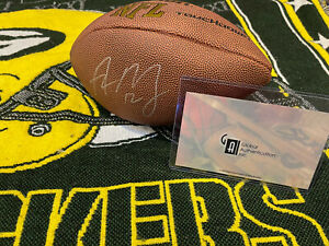 Aaron Rodgers Autographed Signed football 2010-11 AUTHENTIC COA MVP GOAT PACKERS