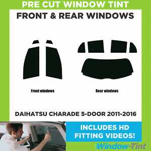 Pre Cut Window Tint - Daihatsu Charade 5-door 2011-2016 - Full (Front & Rear)