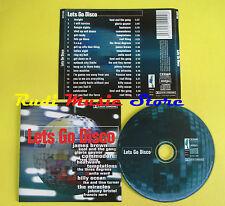 CD LETS GO DISCO compilation 2000 GAYNOR TEMPTATIONS JAMES BROWN (C6) no mc lp