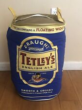 Tetley's English Ale Insulated Beer Cooler Bag. Measures 20� Tall. Brand New.