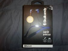 Skullcandy Ink'd In-Ear Buds Bluetooth Wireless Headphone Headset w/Mic Blue(C51