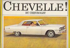 1964 Chevrolet Chevelle Brochure SS/Malibu/300/Wagon+++