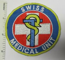SWISS ARMY MEDICAL UNIT PATCH Vintage Used Original SWITZERLAND