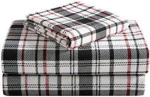 Morgan Home Fashion Cotton Turkish Flannel Sheet 4 Piece Set