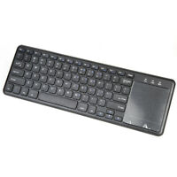 2.4GHz Wireless QWERTY Keyboard And TouchPad Combo w/USB Interface Receiver