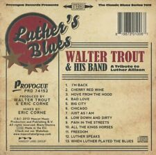 Walter Trout - Luther's Blues - Tribute to Luther Allison [ New CD Read Below ]