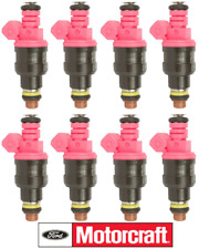 8 Fuel Injectors Genuine FORD MOTORCRAFT CM5255 For Lincoln Mercury