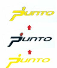 Fiat Grande Punto rear badge overlay Decals stickers x2! any colour
