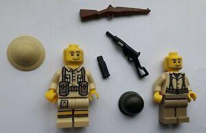 Brickmania   WW2 US & British  Minifigures