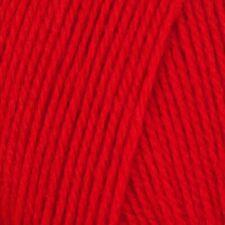 Robin Chunky Acrylic Yarn - Red, 100g