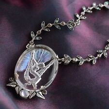NEW SWEET ROMANCE LA BELLE EPOCH VINTAGE FAIRY INTAGLIO NECKLACE ~~MADE IN USA~~