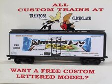 Ho Custom Lettered Almond Joy Freight Car Boxcar Reefer Lot D