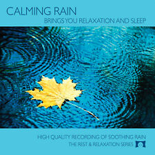 Calming Rain Nature Sounds CD - For Sleep, Relaxation, & White Noise - NEW