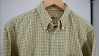 SUGAR CANE union made TOYO exclusive design seer sucker plaid shirt 15 15.5 M