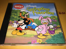 Disney TARGET cd SPRINGTIME FAVORITES hits MICKEY minnie mouse DONALD daisy duck