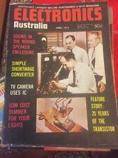Electronics Australia And Hifi Magazine April 1973