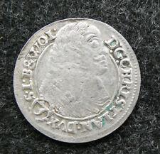 Schlesien Liegnitz Brieg 3 Kreuzer 1661, siehe Bilder !!⓴