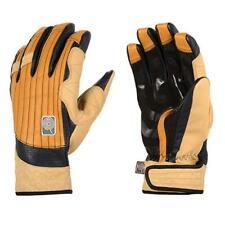 "Candygrind ""Cg Glove"" Leather Snowboard Gloves Camel (Small) + Burton Sticker"