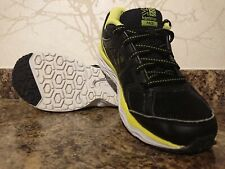 Karrimor Pace Kids Running Shoes Black & Yellow Size UK 2 superb condition.