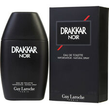 DRAKKAR NOIR by Guy Laroche 6.7 oz / 6.8 oz Cologne New in Box