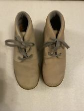 "Caterpillar Leather Boots Men's Size 7, VGC, ""Slightly Different Colours """