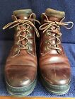 TIMBERLAND Men's Leather Field Hiking Work Boots Shoes-Brown-69058-Sz 9 M