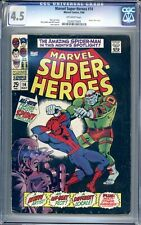 Marvel Super-Heroes #14 - CGC Graded 4.5 (VG+) 1968 - Silver Age