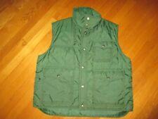 Men's Vintage 70's Sigallo Hunter Green Ski Vest Size XL