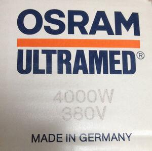 OSRAM ULTRAMED UV-HOCHDRUCKSTRAHLER 4000W 380V HALOGEN-METALLDAMPF-STRAHLER LAMP