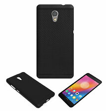 ACM-DOTTED SOFT SILICON BACK CASE for LENOVO P2 MOBILE PREMIUM COVER - BLACK