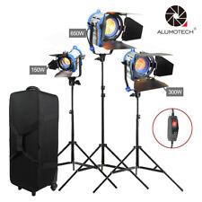 Camera Studio Dimmer Built-in 150W+300W+650W As Arri Fresnel Tungsten light