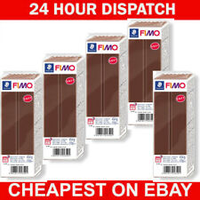 Bundle Pack of 5 X Fimo Soft  454g  Polymer Modelling Clay Oven Bake Chocolate