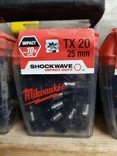 Milwaukee screwdriver bit set
