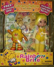 2003 New Mib Vintage Toy Play Hallmark Rainbow Brite Canary Yellow and Spark