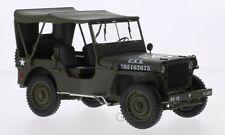 Jeep Willys U.S. Army - cabriolet fermé 1/18 Welly