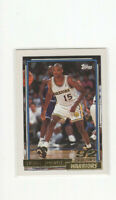 1992/93 Topps Gold Latrell Sprewell Rookie Parallel Card #392 Warriors Star RC!