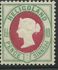German States Heligoland Scott #17b VF Mint LH Sound Stamp